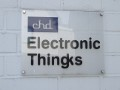 Electronic Thingks Schild