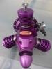 3-Zylinder-Modellsternmotor violett