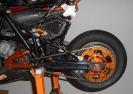 Motorradbauteile montiert